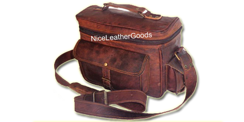 nice leather camera bags